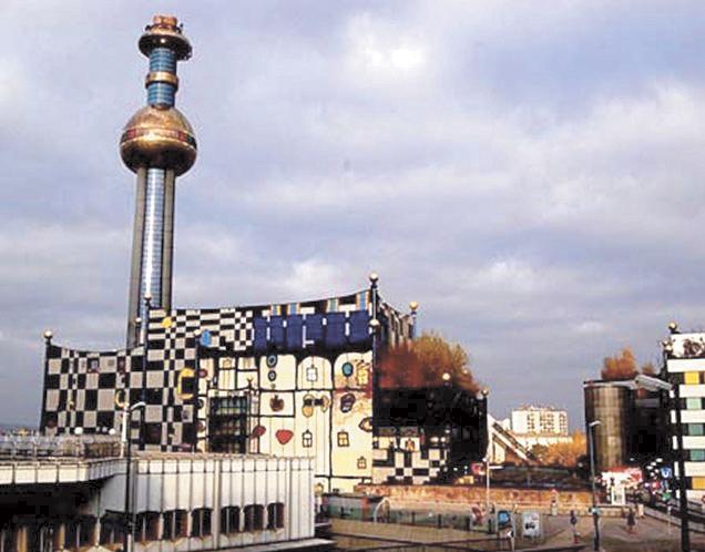 Мусоросжигающий завод в г. Вене